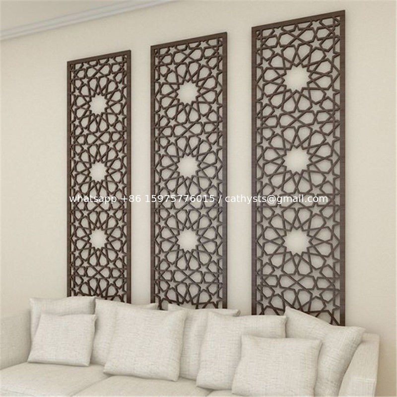 China New Design Decorative Wall Panel Powder Coating Aluminum Screen Metal  Panel Supplier