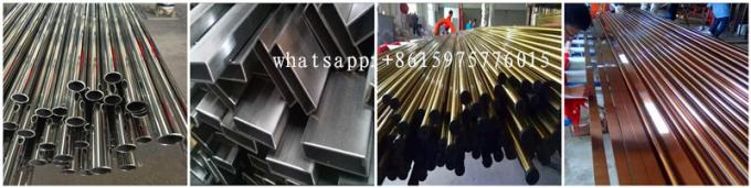 China 304 Stainless Steel Tube Sizes Factory Prices with 6m length polished finish