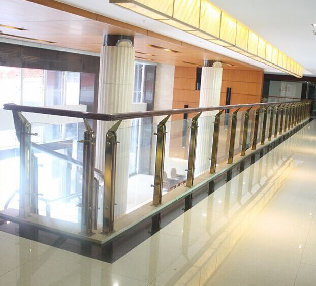 Hot Sale Custom Design Indoor Outdoor Mirror Wall Mounted Stainless Steel Handrail For Stairs