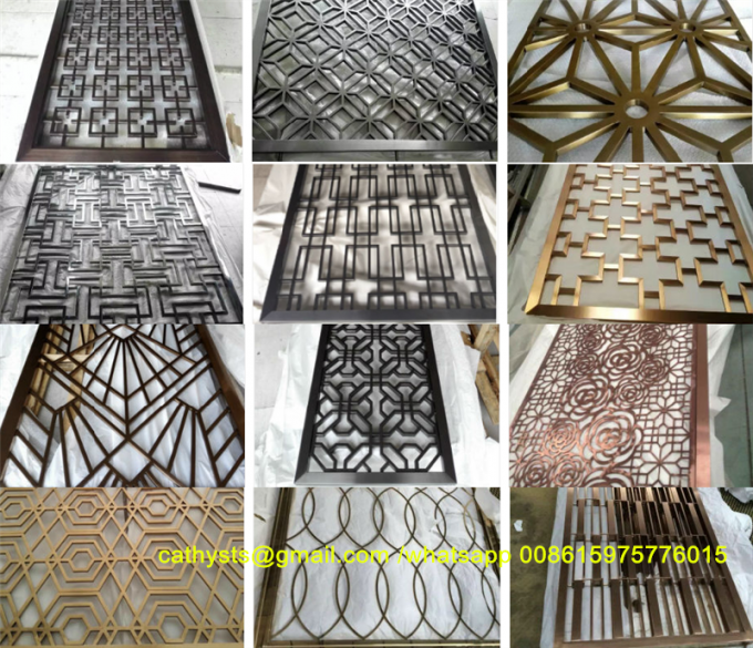 Lasercut Design Metal Screen