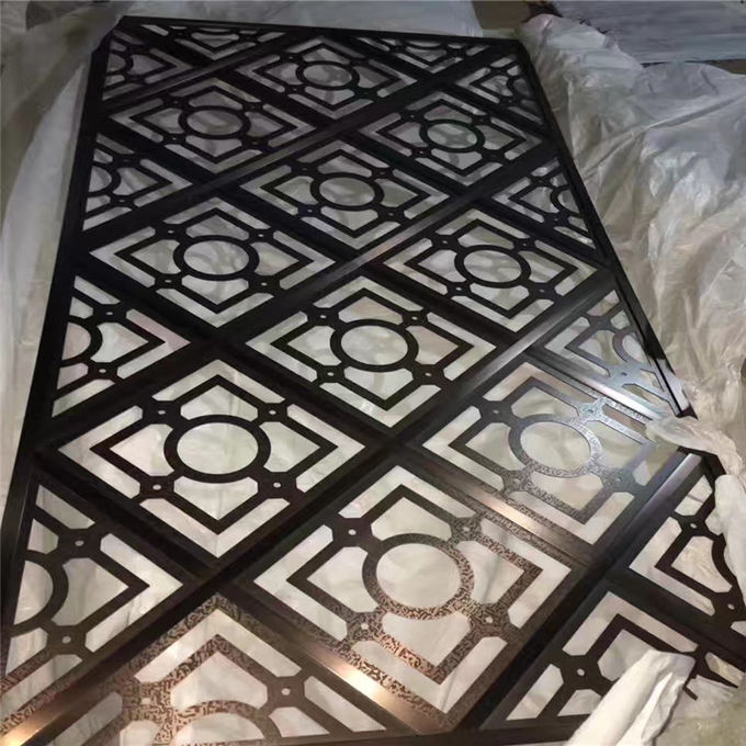 metal ceiling profile stainless steel laser cutting sheet profile for ceiling decoration