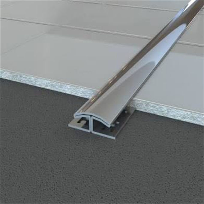 Stainless Steel Metal Floor Strip Trim Edges Brushed Finish Tile Trim