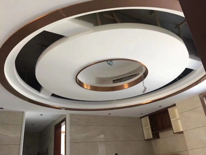 Offer free samples decorative trim stainless steel U channel for ceiling curved lines